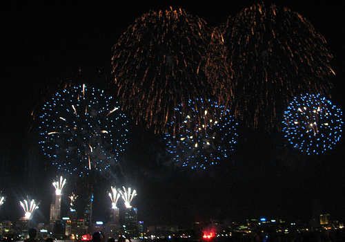 Perth Fireworks Display