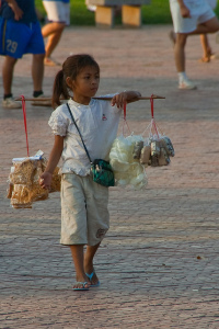 Cambodian Child Working